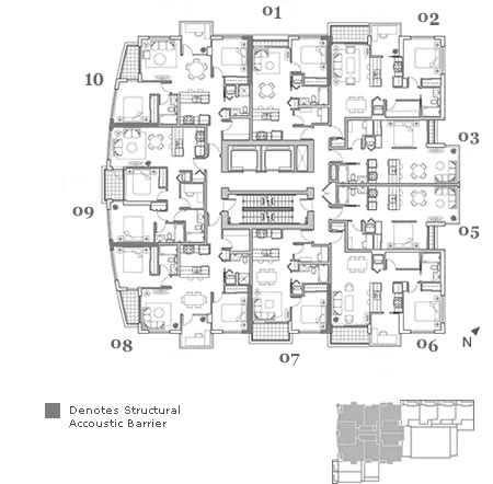 Freesia Floor Plans